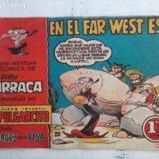 Tebeos: MAGOS DE LA RISA ORIGINAL BRUGUERA Nº 20 - DOÑA URRACA - EN EL FAR-WEST ESE. Lote 127675175