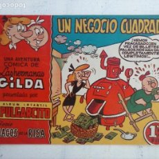 Tebeos: MAGOS DE LA RISA ORIGINAL BRUGUERA Nº 24 - LAS HERMANAS HILDA - UN NEGOCIO CUADRADO. Lote 127675475