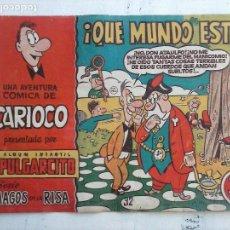 Tebeos: MAGOS DE LA RISA ORIGINAL BRUGUERA Nº 32 - CARIOCO - ¡ QUE MUNDO ESTE !. Lote 127675819
