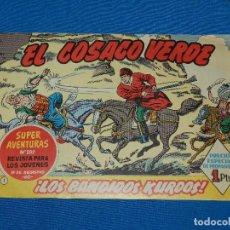 Tebeos: (M3) EL COSACO VERDE NUM 1 - EDT BRUGUERA , BUEN ESTADO. Lote 127731991