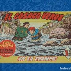 Tebeos: (M3) EL COSACO VERDE NUM 99 - EDT BRUGUERA , SEÑALES DE USO. Lote 127732023