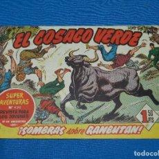 Tebeos: (M3) EL COSACO VERDE NUM 47 - EDT BRUGUERA , SEÑALES DE USO. Lote 127732047