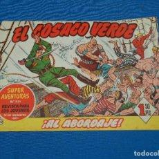 Tebeos: (M3) EL COSACO VERDE NUM 10 - EDT BRUGUERA , SEÑALES DE USO. Lote 127732219