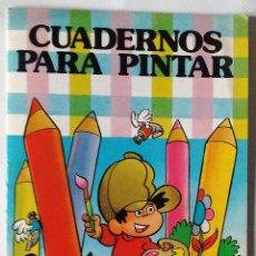 Tebeos: PULGARCITO JAN COLECCIÓN HEROES INFANTILES BRUGUERA 1985 CUADERNOS PINTAR 1ª EDICIÓN NUEVO. Lote 127829351