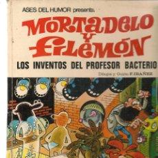 Tebeos: ASES DEL HUMOR. Nº 14. MORTADELO Y FILEMÓN. LOS INVENTOS DEL PROFESOR BACTERIO. 1972. (ST/B105). Lote 127838619