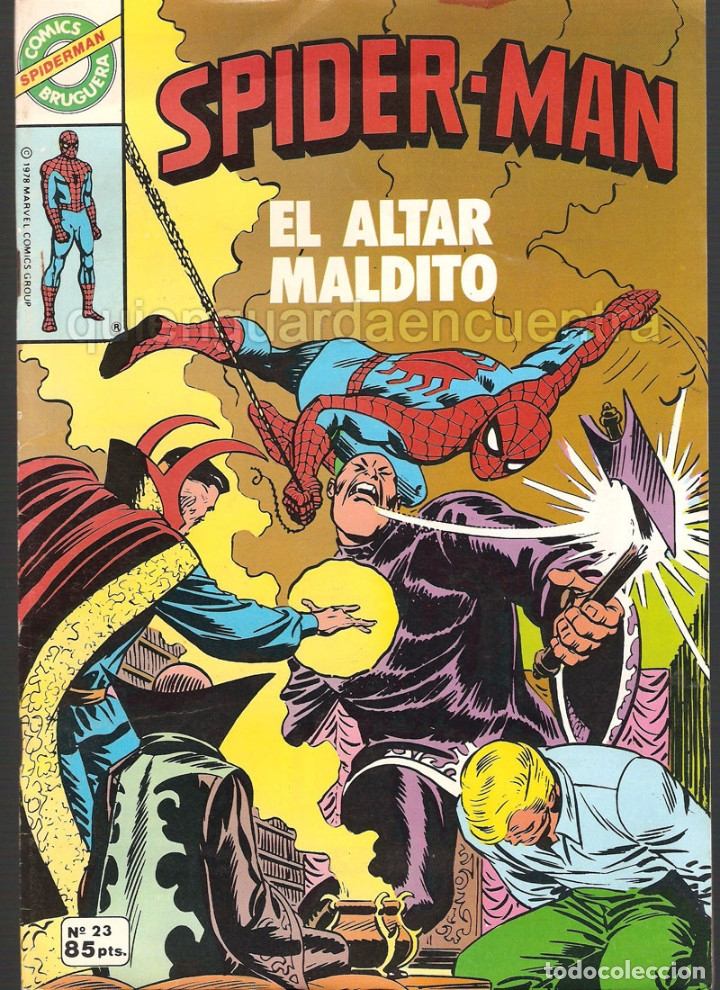 Tebeos: 20 Spider-Man Spiderman-Araña-20-21-23-26-29-30-31-32-34-37-38-40-47-50-53-55-56-65-69-70 Nuevo 1981 - Foto 4 - 54870084