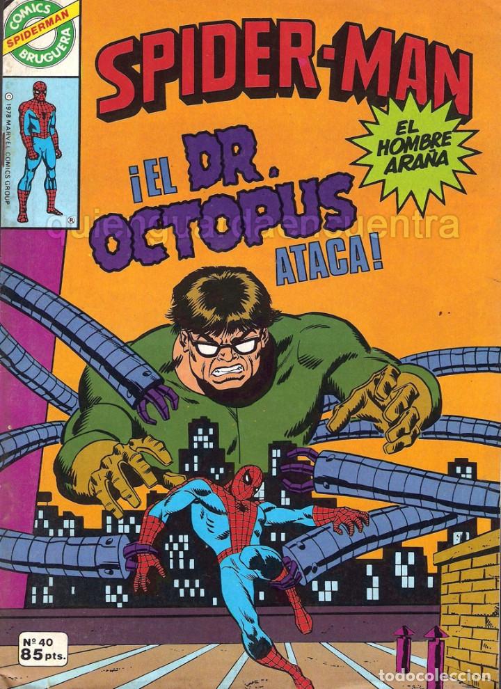 Tebeos: 20 Spider-Man Spiderman-Araña-20-21-23-26-29-30-31-32-34-37-38-40-47-50-53-55-56-65-69-70 Nuevo 1981 - Foto 5 - 54870084