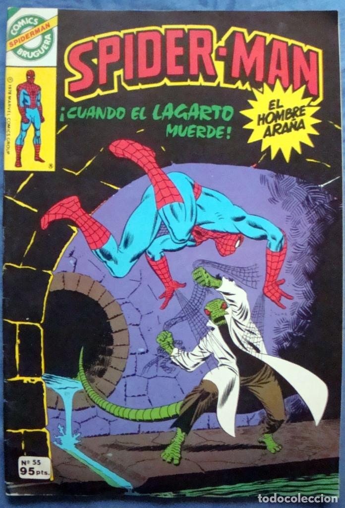 Tebeos: 20 Spider-Man Spiderman-Araña-20-21-23-26-29-30-31-32-34-37-38-40-47-50-53-55-56-65-69-70 Nuevo 1981 - Foto 7 - 54870084