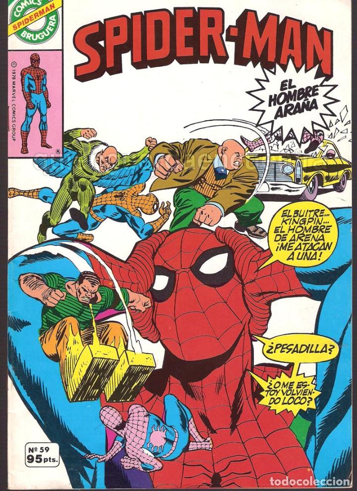 Tebeos: 20 Spider-Man Spiderman-Araña-20-21-23-26-29-30-31-32-34-37-38-40-47-50-53-55-56-65-69-70 Nuevo 1981 - Foto 8 - 54870084