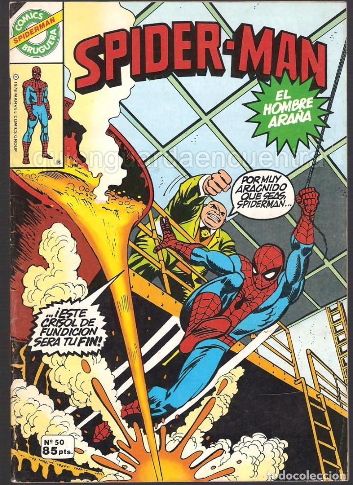 Tebeos: 20 Spider-Man Spiderman-Araña-20-21-23-26-29-30-31-32-34-37-38-40-47-50-53-55-56-65-69-70 Nuevo 1981 - Foto 10 - 54870084