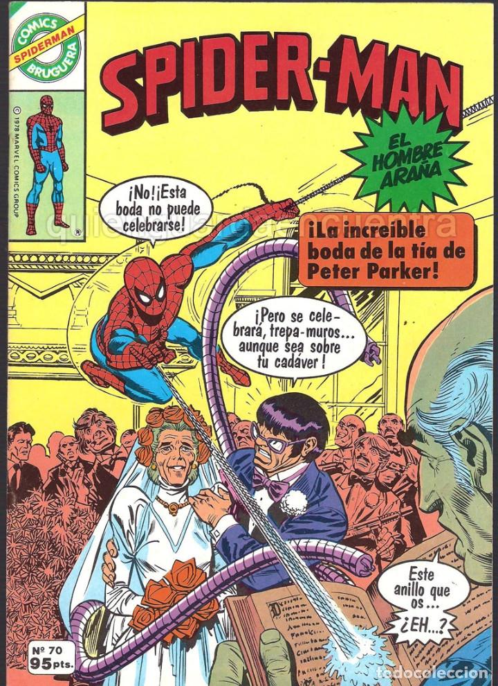 Tebeos: 20 Spider-Man Spiderman-Araña-20-21-23-26-29-30-31-32-34-37-38-40-47-50-53-55-56-65-69-70 Nuevo 1981 - Foto 12 - 54870084
