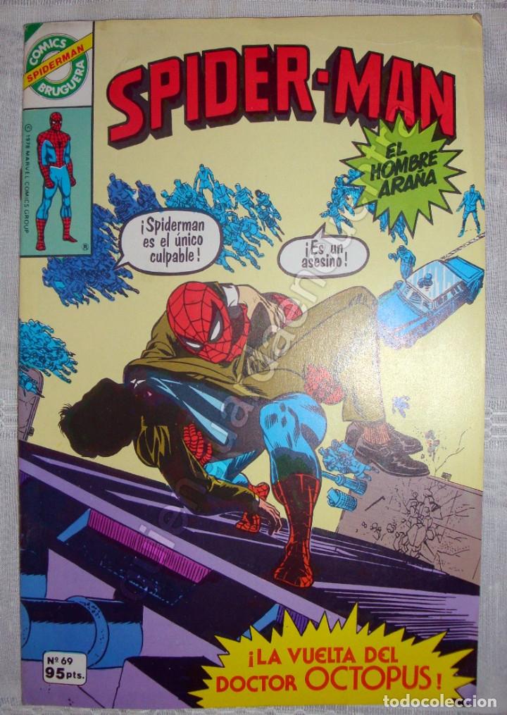 Tebeos: 20 Spider-Man Spiderman-Araña-20-21-23-26-29-30-31-32-34-37-38-40-47-50-53-55-56-65-69-70 Nuevo 1981 - Foto 13 - 54870084
