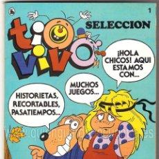 Tebeos: COMIC TIO VIVO SELECCIÓN Nº 1 BRUGUERA CUATRO PRIMEROS 1-2-3-4 AÑO LL 1985-86. Lote 127857883