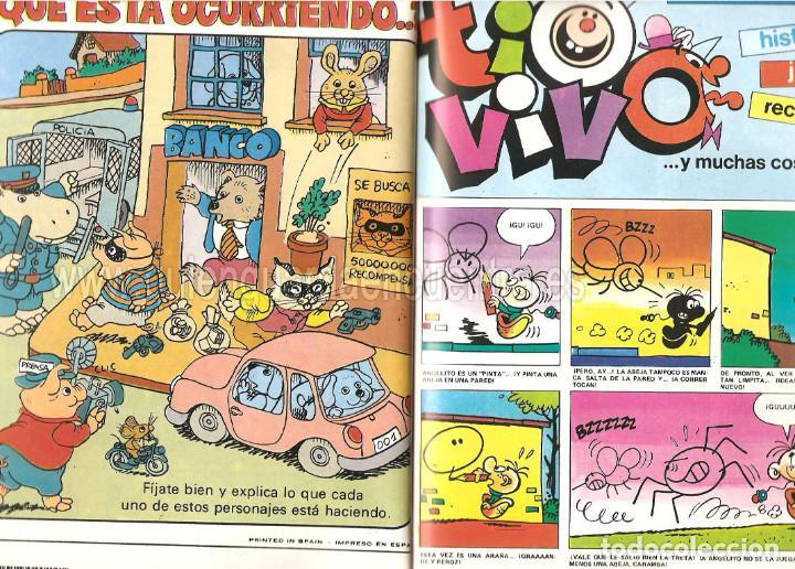 Tebeos: Comic tio vivo selección nº 1 Bruguera cuatro primeros 1-2-3-4 año ll 1985-86 - Foto 2 - 127857883