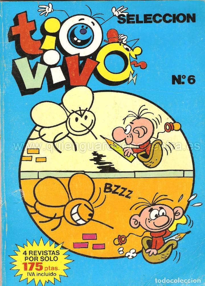 COMIC TIO VIVO SELECCIÓN Nº 6 BRUGUERA NÚMEROS 18-19-20-21 AÑO LL 1985-86 (Tebeos y Comics - Bruguera - Tio Vivo)