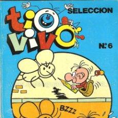 Tebeos: COMIC TIO VIVO SELECCIÓN Nº 6 BRUGUERA NÚMEROS 18-19-20-21 AÑO LL 1985-86. Lote 127858395