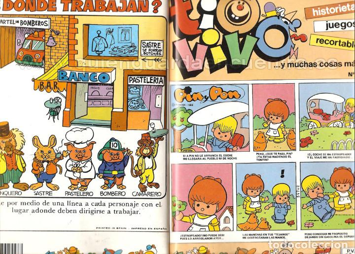 Tebeos: Comic tio vivo selección nº 6 Bruguera NÚMEROS 18-19-20-21 año ll 1985-86 - Foto 2 - 127858395