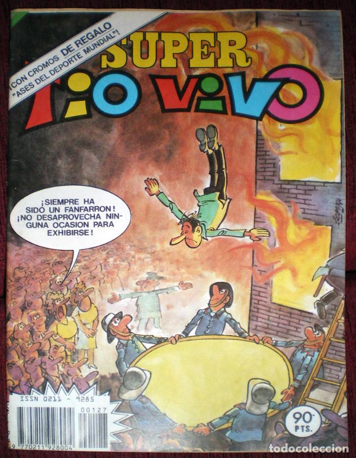 SUPER TIO VIVO Nº 127-GORDILLO-LAURIDSEN-JUANITO-MARADONA-KEMPES-L. UFARTE-1983 (Tebeos y Comics - Bruguera - Tio Vivo)