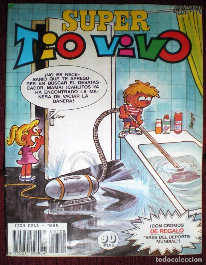Tebeos: 2 Super tio vivo nº 127-Nº 128 SIN CROMOS 1983 NUEVO - Foto 2 - 127859607