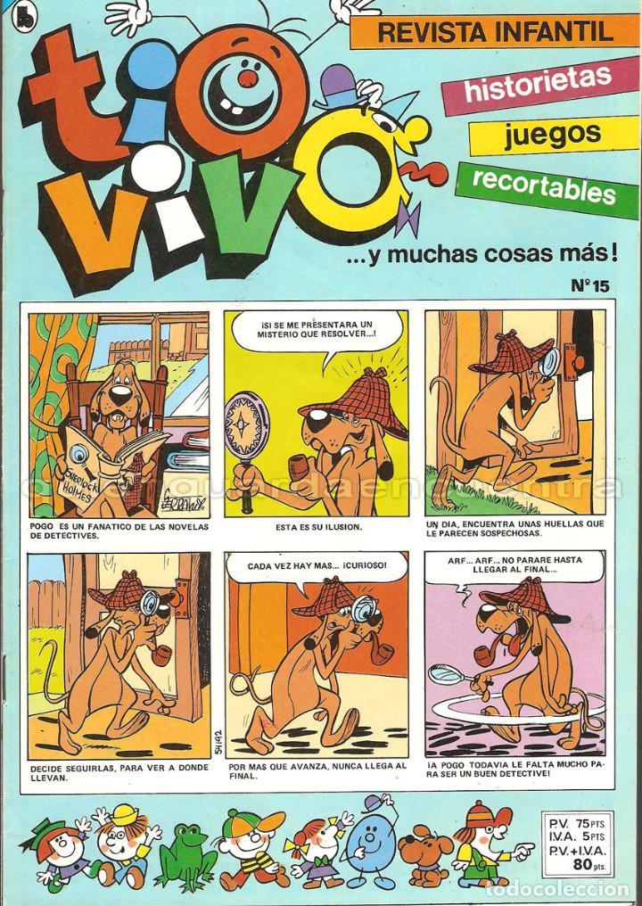 TIO VIVO 11 COMICS-HISTORIETAS-JUEGOS-RECORTABLES 14-15-16-17-18-19-20-21-22-23-24 AÑO II-1986 NUEV (Tebeos y Comics - Bruguera - Tio Vivo)