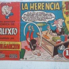 Tebeos: MAGOS DE LA RISA ORIGINAL BRUGUERA Nº 11 - CALIXTO - LA HERENCIA DEL TÍO. Lote 127877295