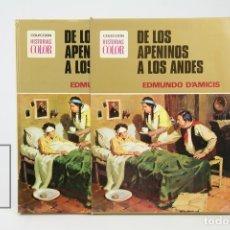 Tebeos: CÓMIC DE TAPA DURA - COLECCIÓN HISTORIAS COLOR / DE LOS APENINOS A LOS ANDES - EDI BRUGUERA, 1977. Lote 127924162