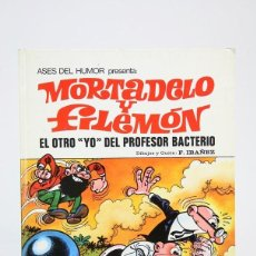 Tebeos: CÓMIC DE TAPA DURA - MORTADELO Y FILEMÓN / EL OTRO YO DEL PROFESOR BACTERIO -EDIT BRUGUERA- AÑO 1973. Lote 127928695