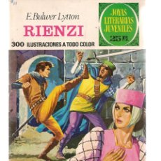 Tebeos: JOYAS LITERARIAS JUVENILES. Nº 111. RIENZI. 2ª EDC. 1977.(ST/B101). Lote 127932019