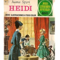 Tebeos: JOYAS LITERARIAS JUVENILES. Nº 103. HEIDI. JUANA SPYRI. 1ª EDC. 1974.(ST/B101). Lote 127932203
