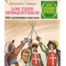 Tebeos: JOYAS LITERARIAS JUVENILES. Nº 96. LOS TRES MOSQUETEROS. A. DUMAS. 2ª EDC. 1977. (ST/B101). Lote 127932823