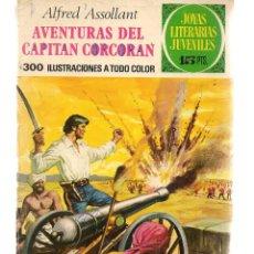 Tebeos: JOYAS LITERARIAS JUVENILES. Nº 80. AVENTURAS DEL CAPITAN CORCORAN. 1ª EDC. 1973. (ST/B101). Lote 127933139