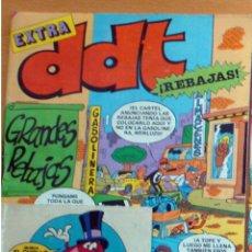 Tebeos: DDT EXTRA GRANDES REBAJAS-Nº 76-BRUGUERA-1985 CROMOS ADHESIVOS AÑO XXXIV NUEVO. Lote 257453425