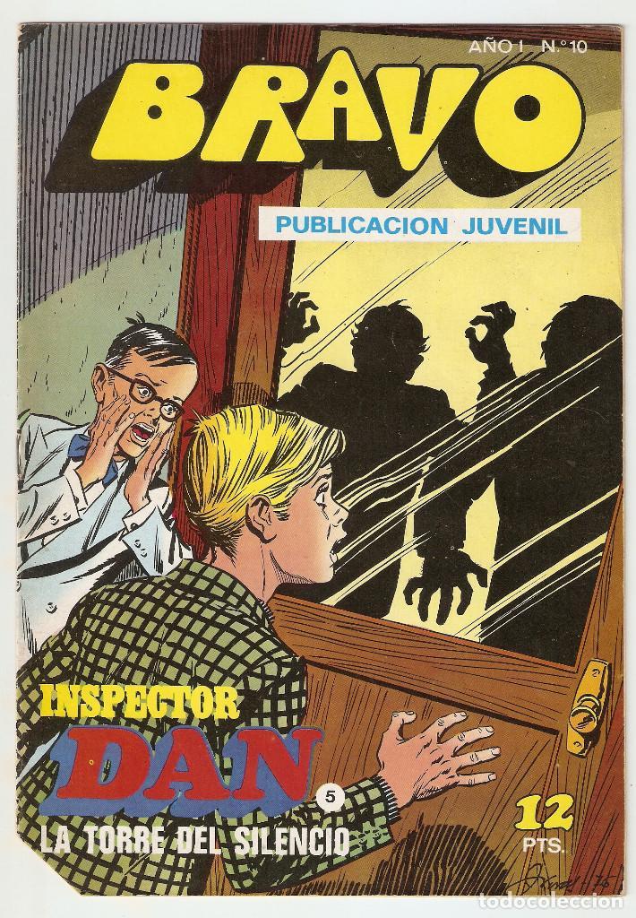 BRAVO Nº 10 - INSPECTOR DAN Nº 5 - EDITORIAL BRUGUERA - 1976 - 16 PP - (Tebeos y Comics - Bruguera - Bravo)