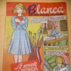 Tebeos: BLANCA Nº 75, REVISTA JUVENIL FEMENINA, ED. BRUGUERA, ERCOM A6. Lote 128039107