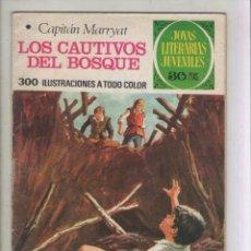 Tebeos: JOYAS LITERARIAS JUVENILES-BRUGUERA-AÑO 1978-COLOR-SERIE VERDE-FORMATO GRAPA-Nº 132. Lote 128039895