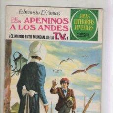 Tebeos: JOYAS LITERARIAS JUVENILES-BRUGUERA-AÑO 1978-COLOR-SERIE VERDE-FORMATO GRAPA-Nº 75. Lote 128040283