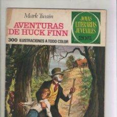 Tebeos: JOYAS LITERARIAS JUVENILES-BRUGUERA-AÑO 1978-COLOR-SERIE VERDE-FORMATO GRAPA-Nº 40. Lote 128040867