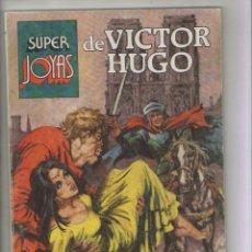 Tebeos: SUPER JOYAS-BRUGUERA-AÑO1977-COLOR-TRES AVENTURAS-FORMATO PRESTIGE-Nº 55-DE VICTOR HUGO. Lote 128042103