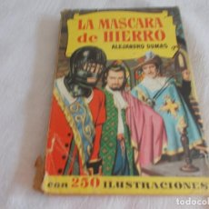 Tebeos: COLECCIÓN HISTORIAS Nº 180 LA MASCARA DE HIERRO. Lote 128134999