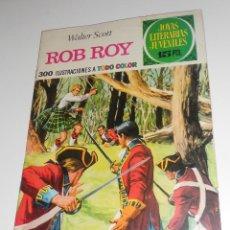 Tebeos: JOYAS LITERARIAS JUVENILES Nº11 ROB ROY EDITORIAL BRUGUERA 1970. Lote 128234715