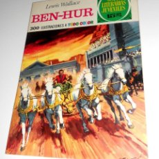 Tebeos: JOYAS LITERARIAS JUVENILES Nº7 BEN-HUR EDITORIAL BRUGUERA 1970. Lote 128235095