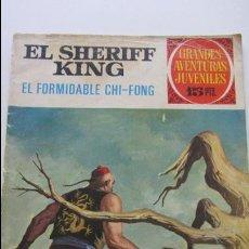 Tebeos: EL SHERIFF KING - EL FORMIDABLE CHI-FONG - BRUGUERA 1972, GRANDES AVENTURAS JUVENILES Nº 26 CS135. Lote 128239563