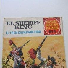 Tebeos: EL SHERIFF KING. Nº 6. EL TREN DESAPARECIDO. EDITORIAL BRUGUERA. 1971. CS135. Lote 128239987