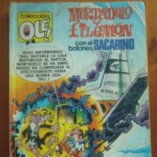 Tebeos: TEBEO MORTADELO Y FILEMÓN CON EL BOTONES SACARINO (1988) Nº 165-M94 COLECCIÓN OLÉ! DE EDICIONES B. Lote 128244731