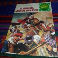 Tebeos: BUEN ESTADO, JOYAS LITERARIAS JUVENILES Nº 221 EL HIJO DEL LEÓN DE DAMASCO. BRUGUERA 1ª ED 1980.. Lote 128311987