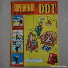 Tebeos: SUPLEMENTO DE HISTORIETAS DE EL DDT, NÚM 14. BRUGUERA 1959. LITERACOMIC. C1. . Lote 128312847