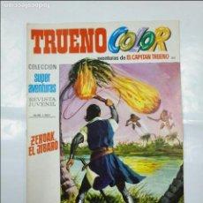 Tebeos: CAPITAN TRUENO COLOR. COLECCION SUPER AVENTURAS Nº 102. ZERDAK, EL JIBARO. REVISTA Nº 1327. TDKC36. Lote 195356022