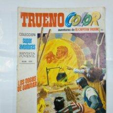 Livros de Banda Desenhada: CAPITAN TRUENO COLOR. COLECCION SUPER AVENTURAS Nº 90. LOS DOGOS DE GUNDAR. REVISTA Nº 1303. TDKC36. Lote 128324303