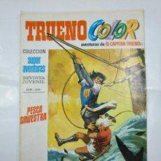 Livros de Banda Desenhada: CAPITAN TRUENO COLOR. COLECCION SUPER AVENTURAS Nº 60. PESCA SINIESTRA. REVISTA Nº 1243. TDKC36. Lote 128325027