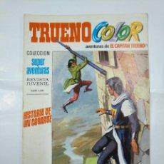 Livros de Banda Desenhada: CAPITAN TRUENO COLOR. COLECCION SUPER AVENTURAS Nº 59. HISTORIA DE UN COBARDE REVISTA Nº 1241 TDKC36. Lote 128325111